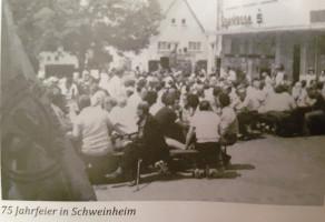 1984 feierte die SPD Schweinheim ihren 75. Geburtstag.