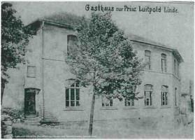 """Gründung des SPD Ortsverein Schweinheim im Mai im Jahr 1909 in der Gaststätte """"Luitpold-Linde"""" an der Schwind-Brauerei. Gegründet wurde der Ortsverein von 42 Mitgliedern. Gastredner soll der Aschaffenburger Arbeitersekretär Georg Häring gewesen sein."""