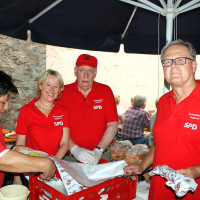 14. Hoffest Rote Forelle