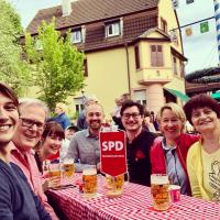SPD Stammtisch in Schweinheim